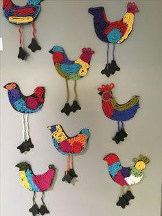 Kalevalalinnut - #Kalevalalinnut Crafts To Do, Hobbies And Crafts, Crafts For Kids, Arts And Crafts, Easter Art, Easter Crafts, World Thinking Day, Spring Art, Elementary Art