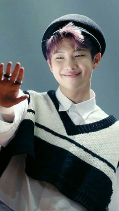 RapMon | I loved (and still do) his purple hair... he looks amazing in it