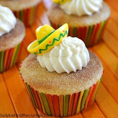 Churro Cupcakes | 12 Cinco De Mayo Food Hacks - You'll Never Guess The Secret Ingredients