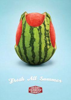 Fresh all summer! Creative ad!