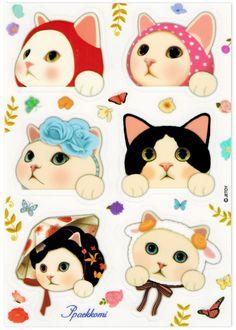 Jetoy Choo Choo Sticker Sheet | Ppaekkomi