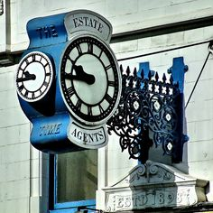 The Time, Estate Agents (Est'd 1898) Barnsley Towne Centre, Barnsley, England