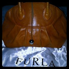 Spotted while shopping on Poshmark: ⤵All leather Furla handbag! #poshmark #fashion #shopping #style #Furla #Handbags