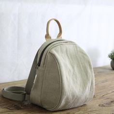 Korean Style Cotton Linen Handbag Small Backpack for Woman in Bean Green Black Pink Beige – Purses And Handbags Crossbody Cheap Purses, Unique Purses, Cheap Bags, Cute Purses, Small Purses, Guess Purses, Handmade Purses, Handmade Handbags, Hipster Backpack