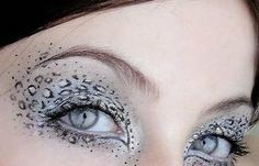 fantasy eyeshadow designs   Glitter Blues and Purple Lips – Beauty and Make Up Pictures