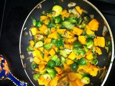 Butternut Squash & Brussels sprouts - The Kitchen Table - The Eat-Clean Diet®