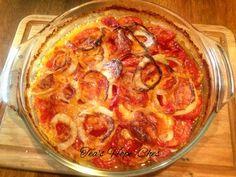 Tomato Cheese Pie...Tea's Southern Recipes