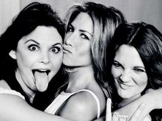 Jennifer Aniston, Drew Barrymore and Ginnifer Goodwin by Ruven Afanador
