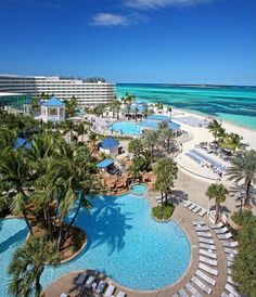 Breezes - all inclusive adult resort in the Bahamas.