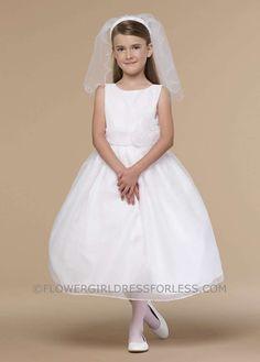 Us Angels Flower Girl Dress- Style 409 $130.99