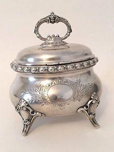 Antique-German-Judaica-Silver-Etrog-Box