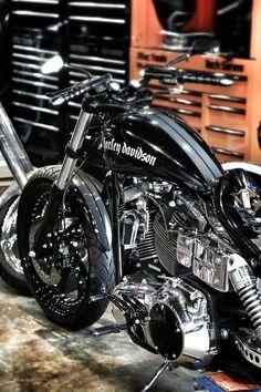 Custom Harley-Davidson FXDB Dyna Street Bob 2016 | Work in progress #harleydavidsoncustomdyna