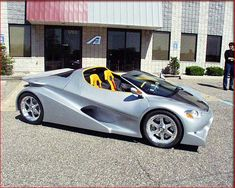 Advanced Automotive shows Heldo sports car at Woodward cruise