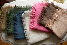 2 Burlap Photography Prop Blankets -  Layering Blanket - Newborn Photography Prop