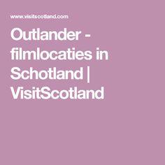 Outlander - filmlocaties in Schotland | VisitScotland