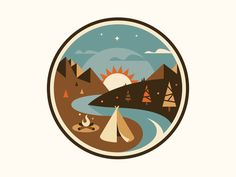 via Dribble by Jesus: Camping