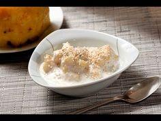 Piña con yogur y amaranto para desayuno.
