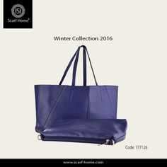 de47d6cba e Fashionista with our elegant #Scarf Home bags collection… Double face Bag  with leather