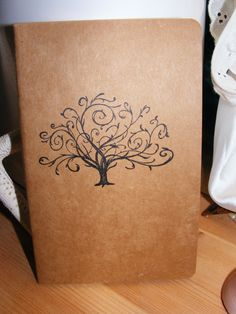 Beautiful Tree Blessing Kraft Journal by serendipitycrafting