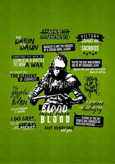 Lexa's quotes. What's your favorite?