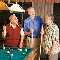 How men's groups at the Good Samaritan Society are more than just social hour. #agingwell #senioractivities  | Good Samaritan Society