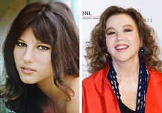 Stefania Sandrelli  Italian actress known for her beauty and roles in both comedic and erotic films, Stefania Sandrelli has a legacy of Italian cinematic roles. She has won multiple awards, and was even given the title of Chevalier of the Ordre des Arts et des Lettres.