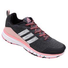 Tênis Adidas Skyfreeze Chumbo e Rosa | Netshoes