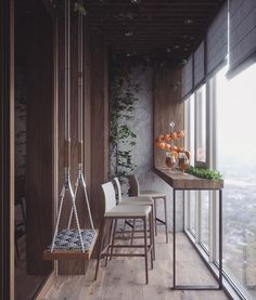 Jaw Dropping Diy Ideas: Quirky Home Decor Inspiration Handmade Home . - Wood Working - Jaw Dropping Diy Ideas: Quirky Home Decor Inspiration Handmade Home Decor - Home Decor Inspiration, House Design, Balcony Furniture, Handmade Home Decor, Small Apartment Balcony Ideas, Glass Balcony, Home Decor, House Interior, Apartment Decor