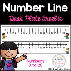 This product is a quick and easy way to provide a number line visual reference tool for each of your students. Numerals 0 through 20 are included on these adorable number lines. I have included both a boy-themed and girl-themed version. Simply print, cut, laminate, and secure to student desks.