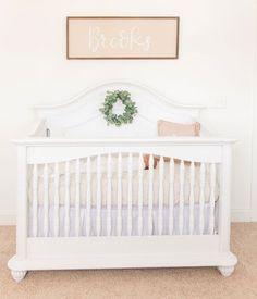 Gender Neutral Nursery Ideas: A Sweet Room for Brooks modern farmhouse nursery #nurseryideas #nurserydecor #babynursery #nursery