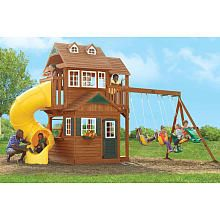 Swingset ideas for dh to build this spring.