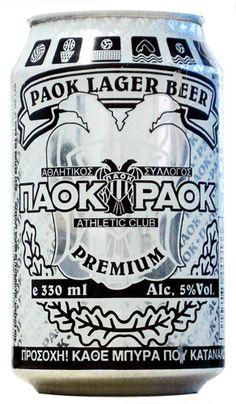 Ακομη και μπυρα για τον δυκεφαλο. Π.Α.Ο.Κ. !!!