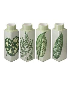 Look what I found on #zulily! Leaf Bud Vase Set #zulilyfinds