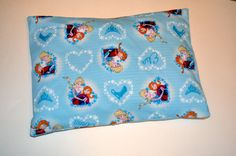 Decorative pillow case for girls Frozen Elsa and by CraftyMom75  #Craftshout