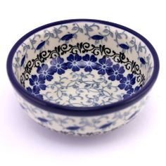 How about this bowl? Polish pottery :)