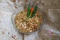 Aaichi Savali: Peanut-Thecha / Peanut-Green chilli chutney  / Pea...