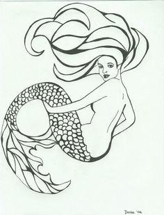 Mermaid by ~bonanzajellybee on deviantART   Fantasy Clipart ...