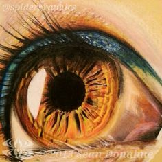 Eye study 2 by Sean Donahue on ARTwanted