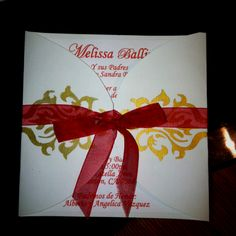 Another of my handmade invitations :)