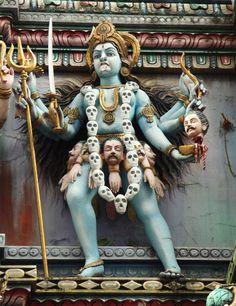 Manifestations of the Goddess Kali Mother Kali, Divine Mother, Kali Goddess, Mother Goddess, Shiva Art, Hindu Art, Kali Sticks, Goddess Of Destruction, Kali Mata