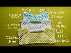 Resultado de imagem para crochet canesu