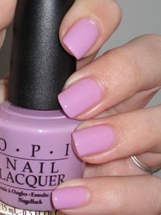 lucky lucky lavender by OPI  Love the color Sheila