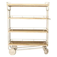 New Routz Trolley Industry Large - Wit - afbeelding 1