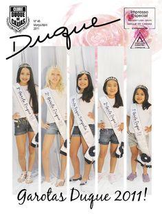 Revista Duque edição 46, 2011; 36 páginas, acabamento canoa (veículo de comunicação do Clube Duque de Caxias, Curitiba-PR)