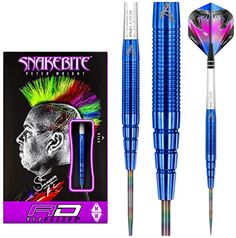 Our man Snakebite wants perfect darts, so he certainly puts us through our paces making subtle and precise design changes across his darts range. Peter Wright, Dart Flights, Hardcore, Red Dragon, Snakebite, 18th, The Incredibles, Oder, Blue