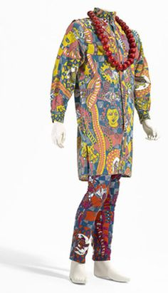 Gavin Brown - Melbourne Artist   Indian snakes and ladders outfit 1985  © All rights reserved Manstyle 2011 Australia  Plain Jane, Melbourne (fashion house) Australia  Designer: Gavin Brown  Necklace: National Gallery of Victoria  @OCCOMEVENTS #melbnourneart #pragencymelbourne