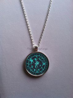 The Elder Scrolls V: Skyrim Frenzy Rune or Frost Rune Necklace
