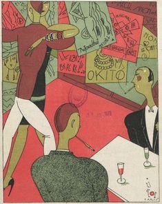 illustrations from the 1920s Spanish satirical magazine Buen Humor...