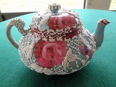 Nippon Moriage signed Teapot