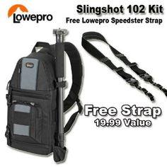 Lowepro SlingShot 102 AW (Electronics)  http://www.amazon.com/dp/B003JEADGU/?tag=goandtalk-20  B003JEADGU